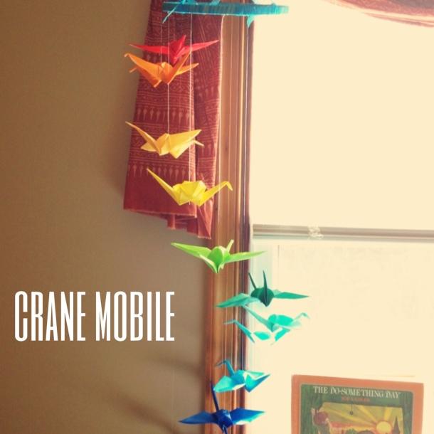 Crane mobile