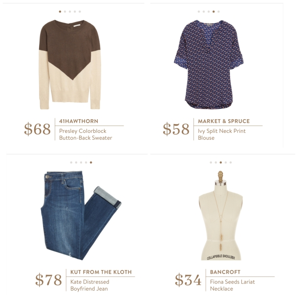 Stitch Fix box Review what's in the box