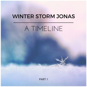 Jonas – The Timeline of a Snowstorm Part1.
