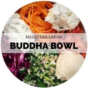 Mediterranean Inspired BuddhaBowl
