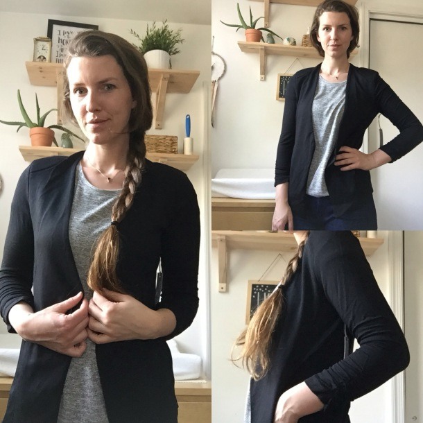 Tart Anahi Knit Blazer Stitch fix review
