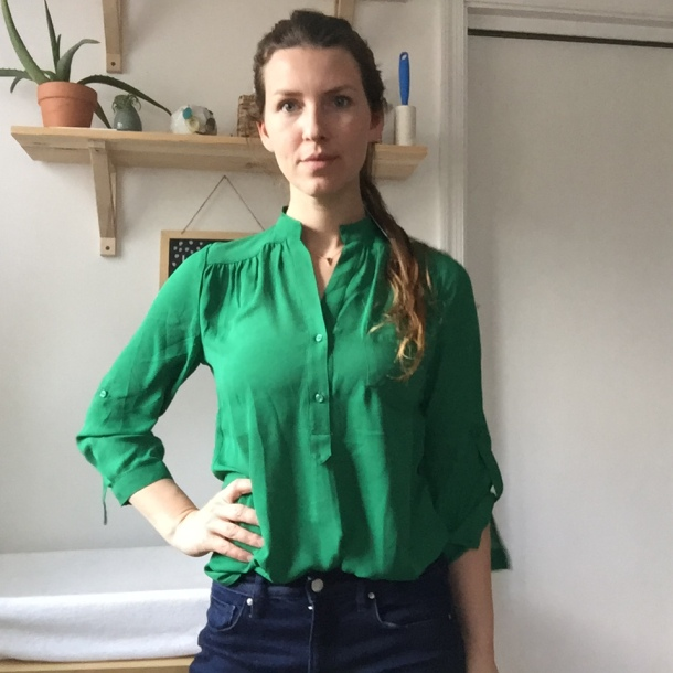 41Hawthorn Colibri Solid Tab Sleeve Blouse Stitch fix review