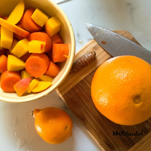 Beets Before Breakfast Morning Juice Recipe with golden beets and turmeric - Multifaceted Mama