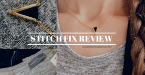 April Stitch Fix Review: Lots of Tops