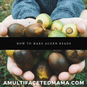 Making Acorn Beads