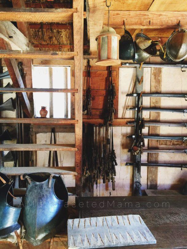 Homeschool Field trip to Jamestown Virginia Settlement review