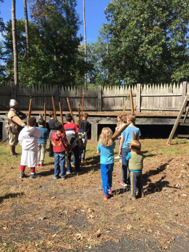 Jamestown Settlement Review day trip homeschool