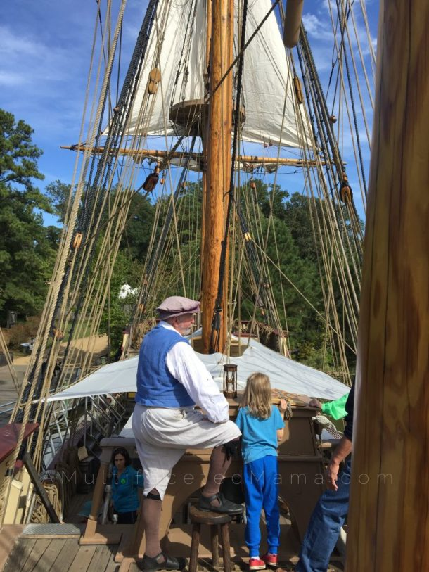 Jamestown Settlement Discovery ship review
