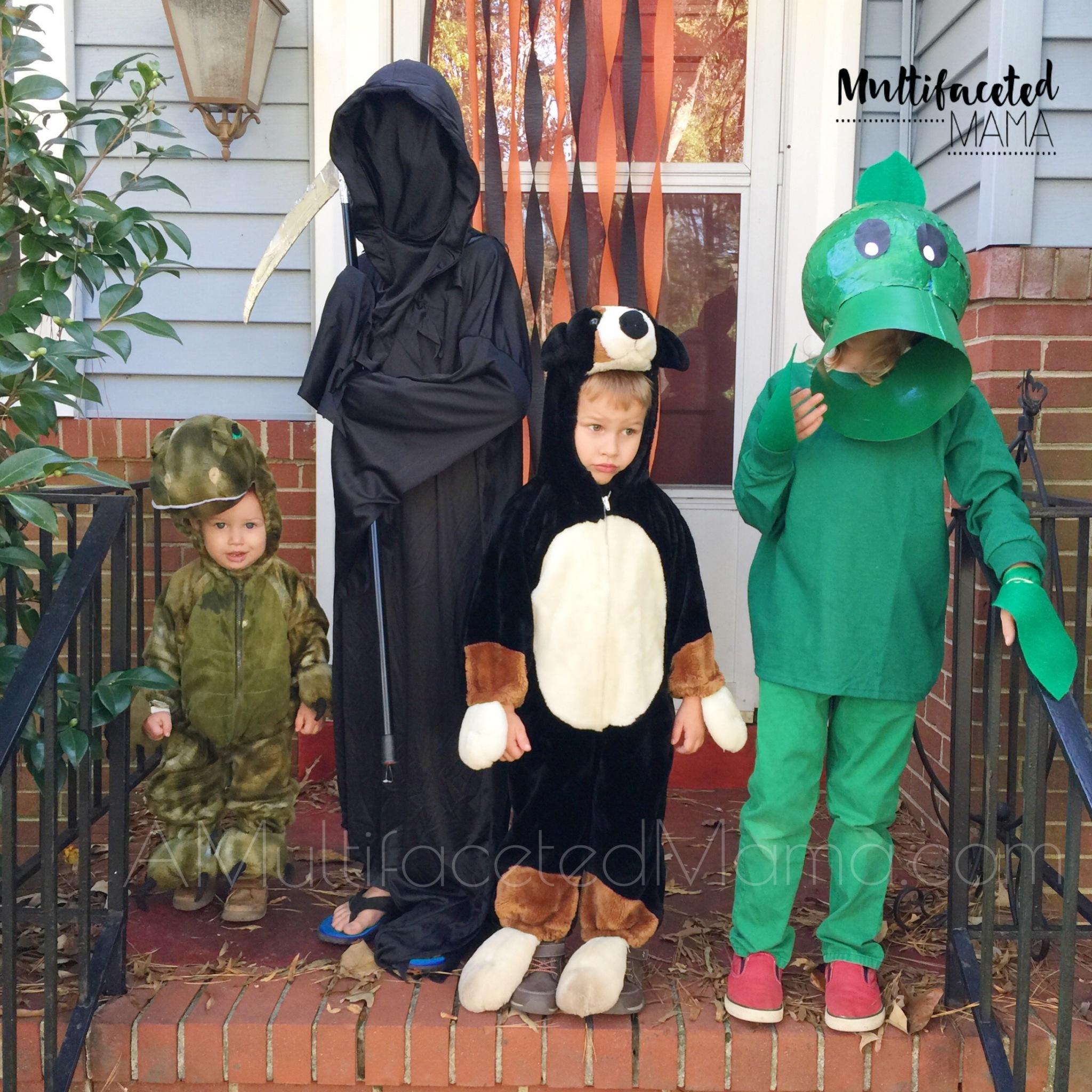 Halloween Peashooter costume